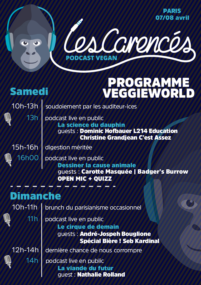 programme veggieworld paris